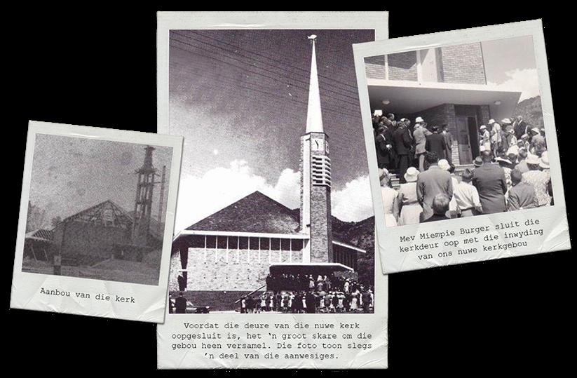 Ou foto's van die kerk