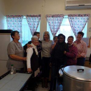 Mara, Ronel, Linda, Annelise, Theresa, Annetjie, Yvonne en Ronel